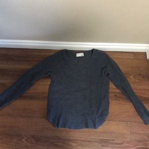 Wilfred free knit v-neck sweater